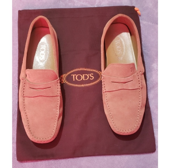 Tod's Other - Tod's Suede Driving Shoes